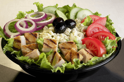 gezonde salades om af te vallen