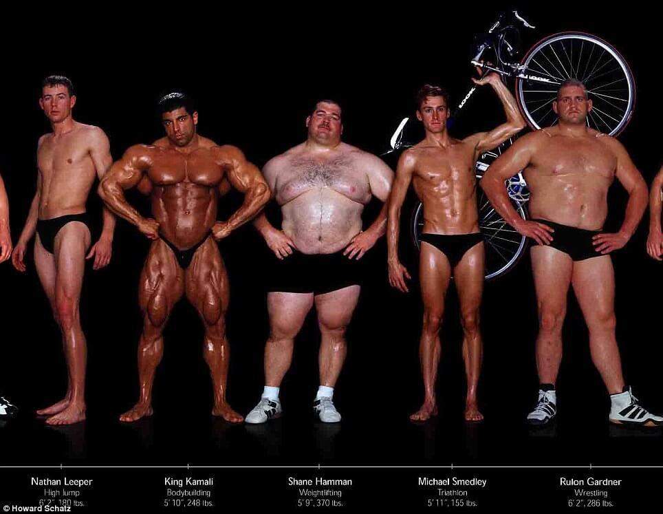 fitness schema maken spiermassa