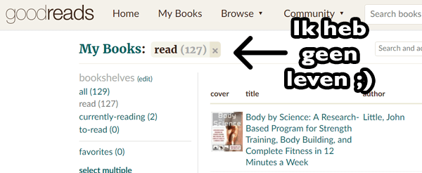 boeken over voedingsleer